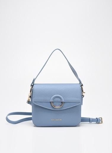 Beymen Messenger / Askılı Çanta Mavi